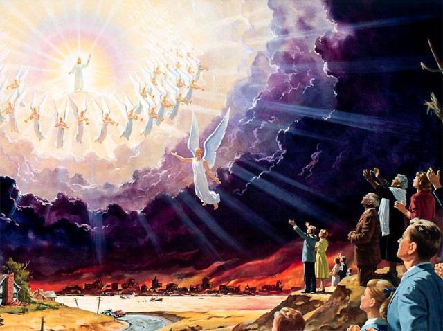Jesus en las nubes