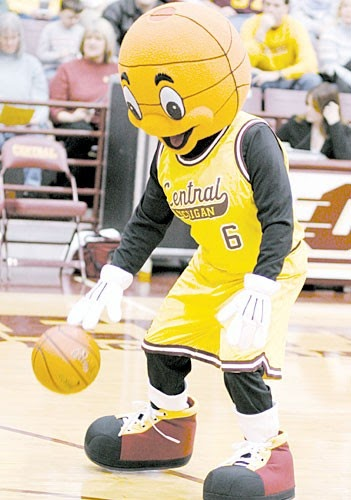 Mascots In Review Central Michigan Chippewas