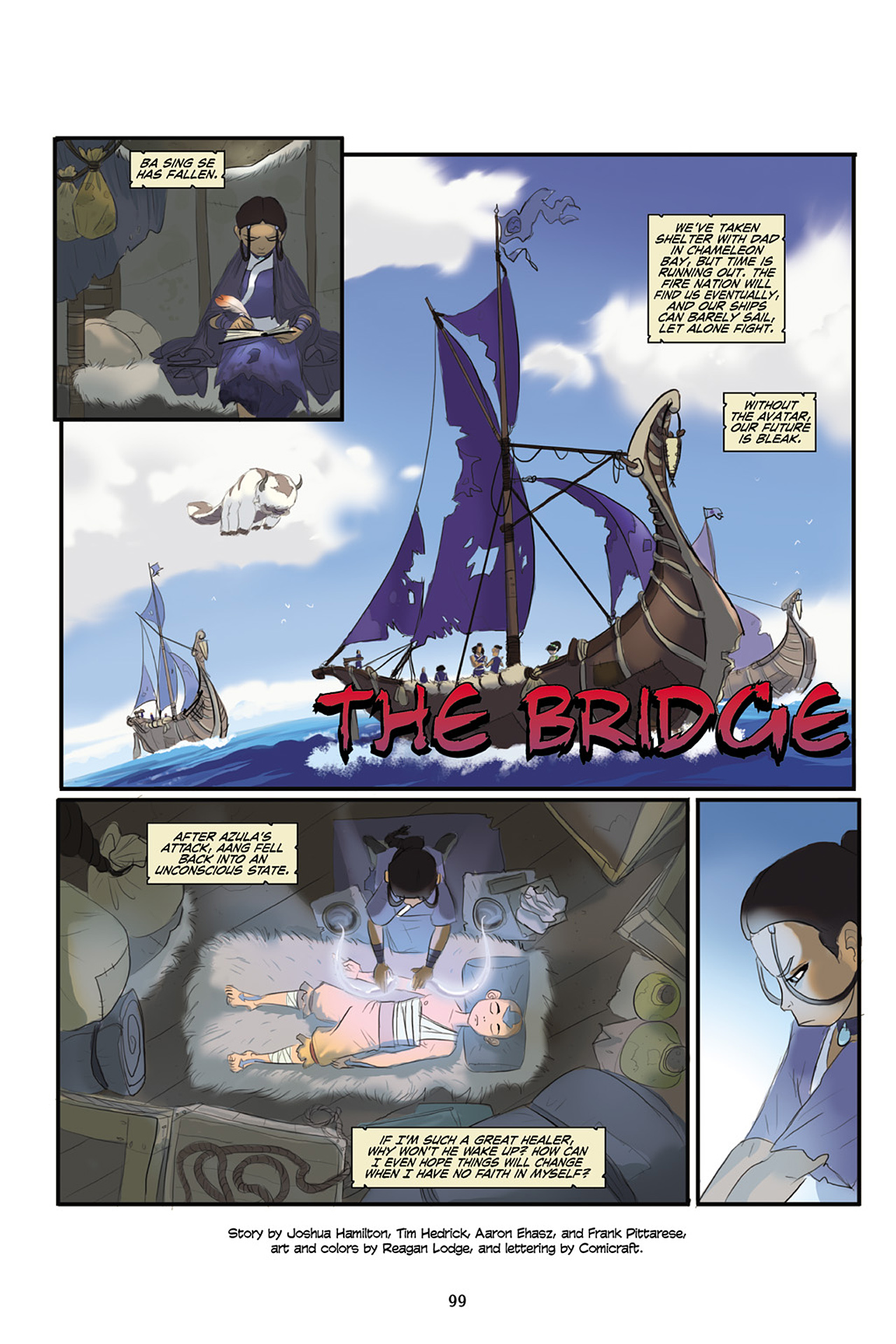 Nickelodeon Avatar: The Last Airbender - The Lost Adventures chap full pic 100