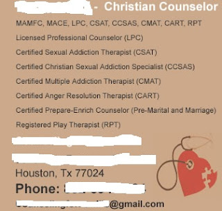 association christian sex addiction therapists