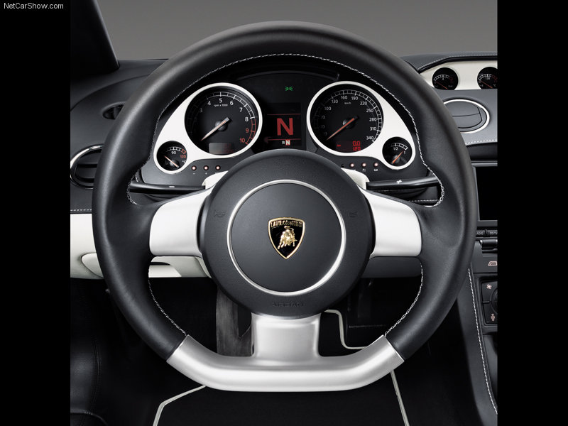 Lamborghini Gallardo Dashboard