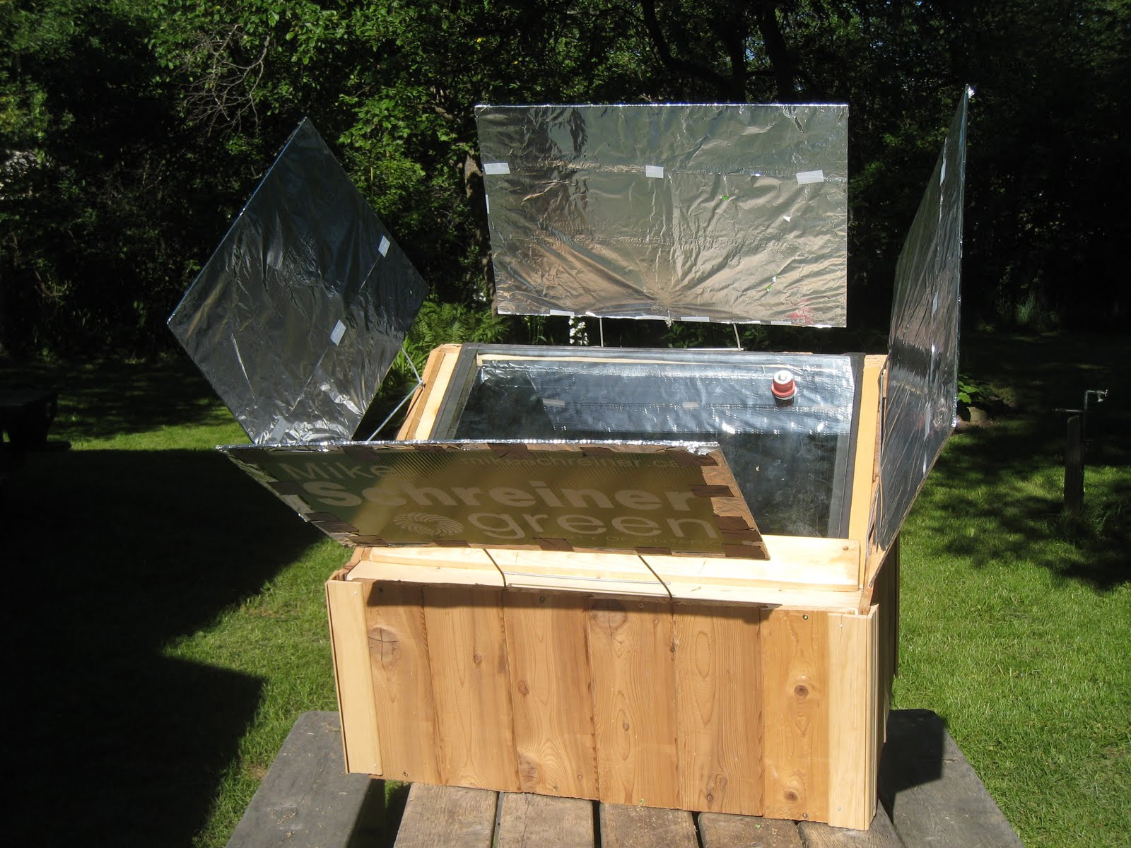 how to build a solar powered oven