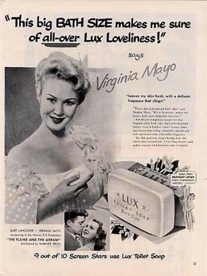 Virginia Mayo Hot And...scene!: Vintage ...