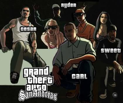 Blognya Febby: Cheat GTA San andreas PS2