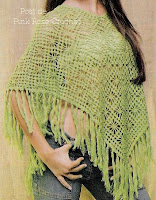 crochet flower shawl and poncho, crochet pattern - crafts