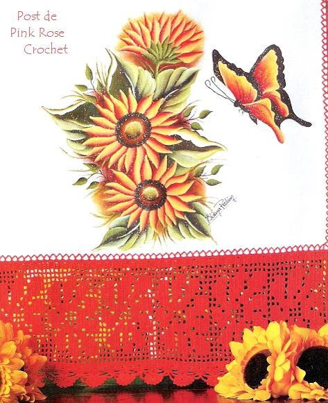 [Barrado+Flor+Crochet++-+Crochet+Filet+Edge+-+Pink+Rose.JPG]