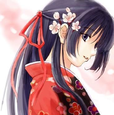 Anime mujer guerrera