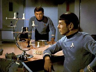 Echecs & Fide : Monsieur Spock dans Star Treck