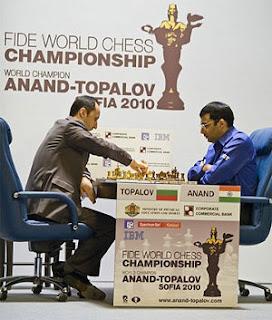 Championnat du Monde d'échecs : Veselin Topalov face à Vishy Anand