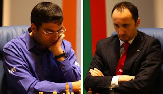 Championnat du Monde d'échecs : Vishy Anand et Veselin Topalov Photo © site officiel