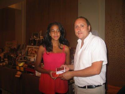 La remise du Prix de beauté Chess & Strategy