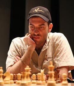 Igor Nataf, champion d'échecs français
