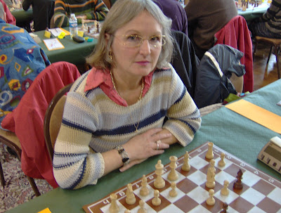 Florence Wofangel, Directrice nationale des féminines - photo Chess & Strategy