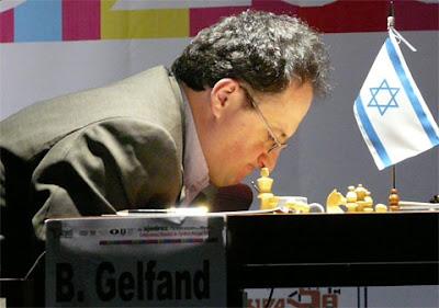 Boris Gelfand - premier échiquier de l'équipe israélienne