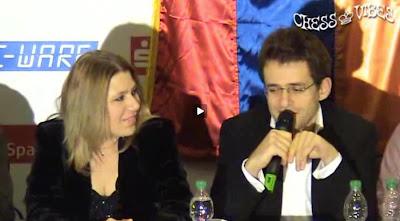 Susan Polgar et Levon Aronian