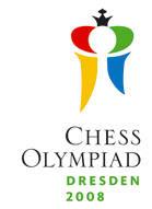 le logo officiel des olympiades d'échecs de Dresde