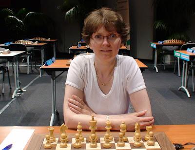 Maria Leconte, échiquier n°4 de l'équipe de France
