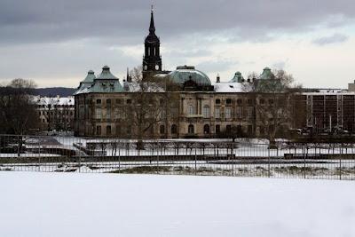 Dresde sous la neige - une des 1.500 photos de Susan Polgar