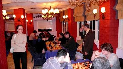L'ambiance cosy du tournoi de Gibraltar