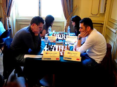 Le grand maître d'échecs français Igor-Alexandre Nataf lors du Top 16  - photo Chess & Strategy