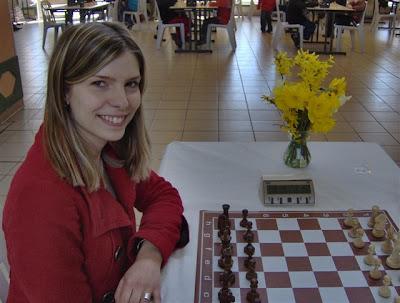 Anémone Kulczak participait au championnat féminin de ligue de parties rapides