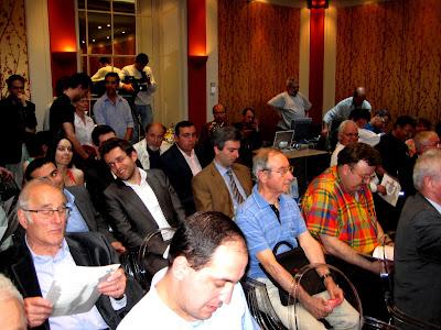 Le public parisien a largement répondu présent © Chess & Strategy