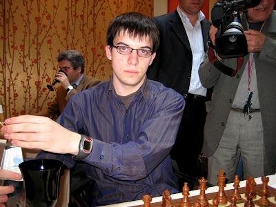 Maxime Vachier-Lagrave a marqué hier le seul point tricolore © Chess & Strategy