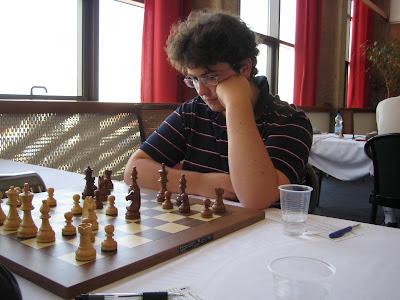 Thomas Saatdjian dans le Master de Dieppe © Chess & Strategy