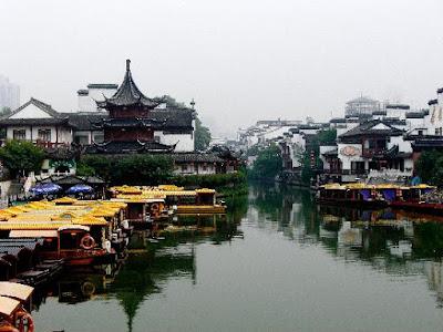 Les canaux de Nanjing