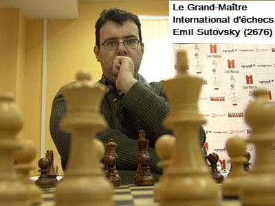 L'Israélien Emil Sutovsky