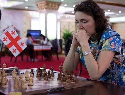 La géorgienne Nana Dzagnidze (2536)