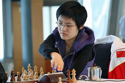 La championne Hou Yifan, n°3 mondiale © The Chess Drum