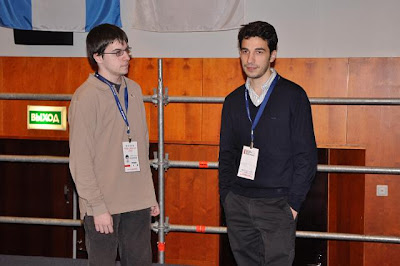 Maxime Vachier-Lagrave et Laurent Fressinet © Site Officiel