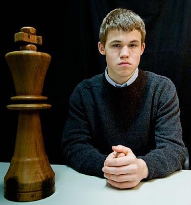 Le prodige norvégien Magnus Carlsen © Fred Lucas