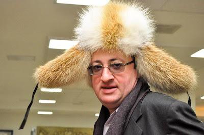 Boris Abramovich Gelfand en free style à -35°C © Site Officiel