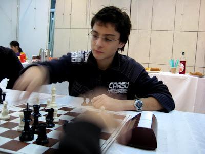 Maxime Lagarde (2393), échiquier n°1 de Clichy © Chess & Strategy