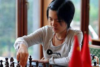 Hou Yifan, championne d'échecs chinoise © site officiel