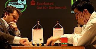 Echecs à Dortmund : Arkadij Naiditsch face à Vladimir Kramnik © site officiel
