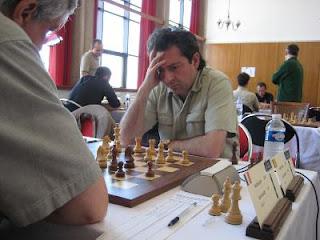 Echecs à Dieppe : le GMI Alexandre Dgebuadze© Chess & Strategy