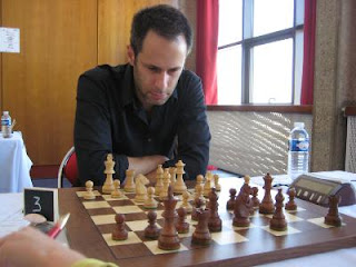 Echecs à Dieppe : le MI Hugo Tirard  © Chess & Strategy