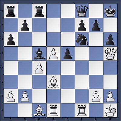 Echecs & Tactique : Les Blancs gagnent en 6 coups - Niveau Moyen