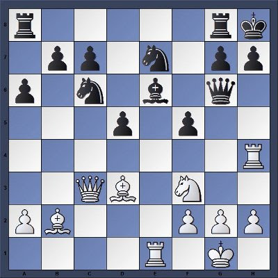 Echecs & Tactique : Les Blancs gagnent en 4 coups - Niveau Moyen