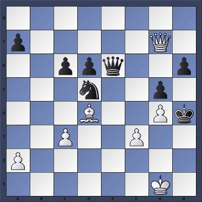 Les Blancs jouent et matent en 4 coups - Niveau Moyen