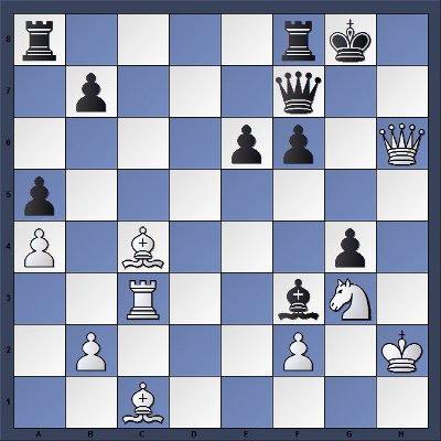 Echecs & Tactique : Les Blancs gagnent en 3 coups - Niveau Moyen