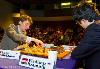 Echecs en Angleterre : McShane 1/2 Kramnik © wwwRay Morris-Hill