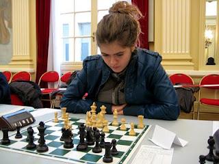 Sophie Aflalo (2031) joue cette année pour Paris AECE après Bois-Colombes © Chess & Strategy
