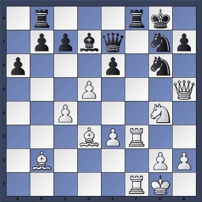 Les Blancs jouent et matent en 5 coups - Niveau Moyen