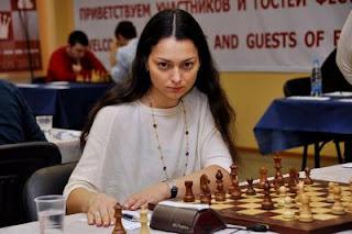 Echecs à Moscou : Alexandra Kosteniuk