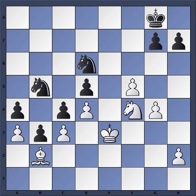 Echecs & Tactique : les Noirs jouent et gagnent en trois coups - Niveau Moyen