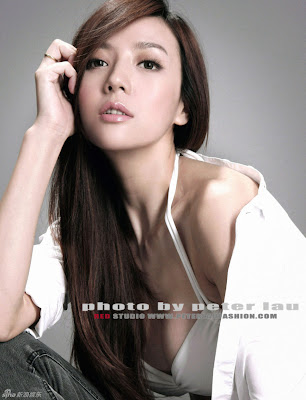 Chinese Model Zhou Wei Tong Photos